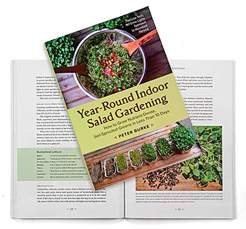 Book Review: Year Round Indoor Salad Gardening